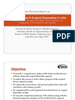 Medical Devices & Surgical Disposables in India
