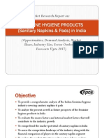 Manufacturing & Market Potential of Sanitary Napkins _ Nonwovens