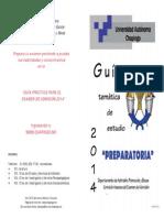Guía de Estudio Para Preparatoria 2014