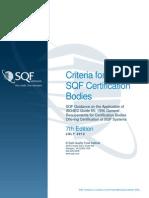 Criteria for Certification Bodies 7-24-12