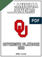 Oklahoma Air Raid Offense 1999