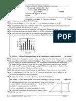 Matematica Limba Germana Subiect