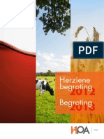 Herziene Begroting 2012 Begroting 2013 HPA