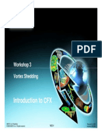 CFX12 Workshop 03 VortexShedding