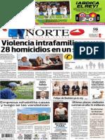 Periódico Norte edición del día jueves 19 de junio de 2014