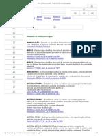 Anvisa - Medicamentos - Glossário de Definições Legais