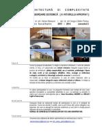 Arhitectura Si Complexitate_2013-2014