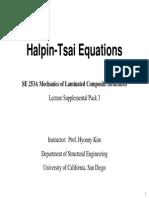 3 Halpin TsaiEqns