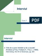 Curs+8.+Interviul