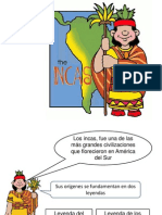 Power Point Para Guia de Actividades de Incas