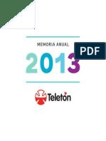 Memoria Teletón 2013