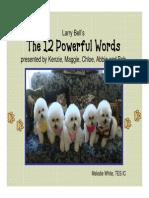 12 powerful words pdf