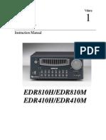 EDR810H Manual