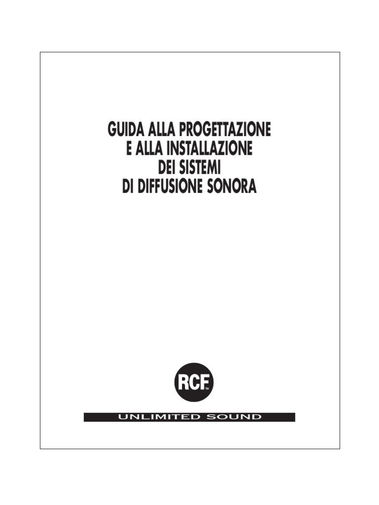 Schema Collegamento Xlr : Guida rcf