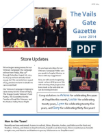 June 2014 Vails Gate Newsletter