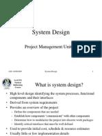 PM02 - System Design