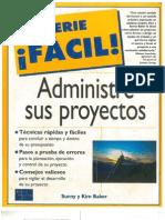 Administre Sus Proyectos - Serie Facil