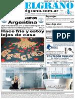 Frazadas que abrazan, Diario Mi Belgrano.