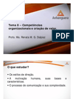 Processos Administrativos Tema 8