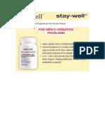 Supplements for Prostate Glands