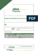 PROC FR Configuration Profil Téléphonique v3.0.1