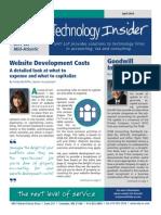 UHY Technology Insider - April 2014