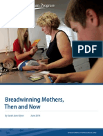 Breadwinning Mothers, Then and Now