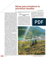 Las políticas para fortalecer la agricultura familiar