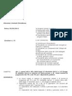 Circolare Inps Numero 73 Del 05-06-2014