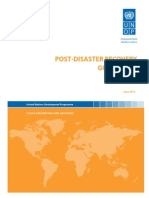 Post-Disaster Recovery Guidelines