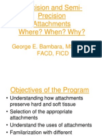 Attachment Dentistry Slides Handout