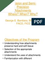 Attachment Dentistry Slides Handout