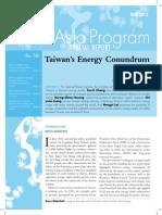 Taiwan's Energy Conundrum