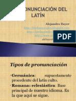 Latín - Pronunciación - Vocales y consonantes.pptx