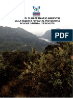 Ajuste PMA Cerros Orientales - CAR