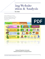 E-learning Website Observation & Analysis