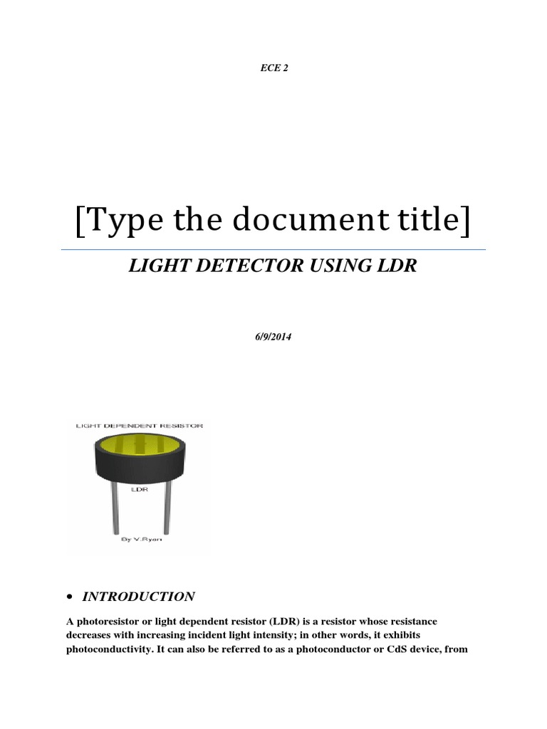 Ldr Fire Alarm Steps Ceramic Tile Circuit Using Light Depending Resistor As Sensor Diagram Detector Transistors Picture Of Update 2 Wiring
