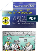 Forensic DNA Science by Cora de Ungria