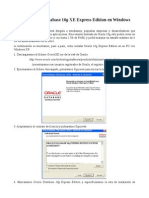 Instalacion de Oracle 10g en Windows