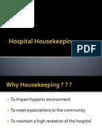 Hospital Housekeeping abilash