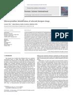 Elie, 2012, Microcrystalline Identification of Selected Designer Drugs