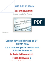 labour day in italy