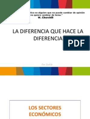 La Diferencia Que Hace La Diferencia W Churchill Investigación De Mercado Mercado Economía