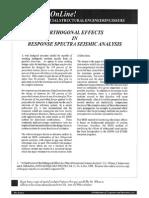 Wilson, Orthogonal Effects in RSA