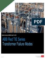 Transformer Failure Modes 20130416