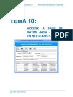 Acceso a Datos Java Mysql Con Netbeans