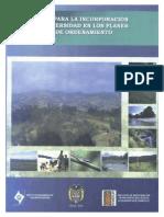 169 Biodiversidad en POT 2006