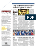 Self Defence Aids India's Women Against Crime - Gulf Times 12 Jun 2014