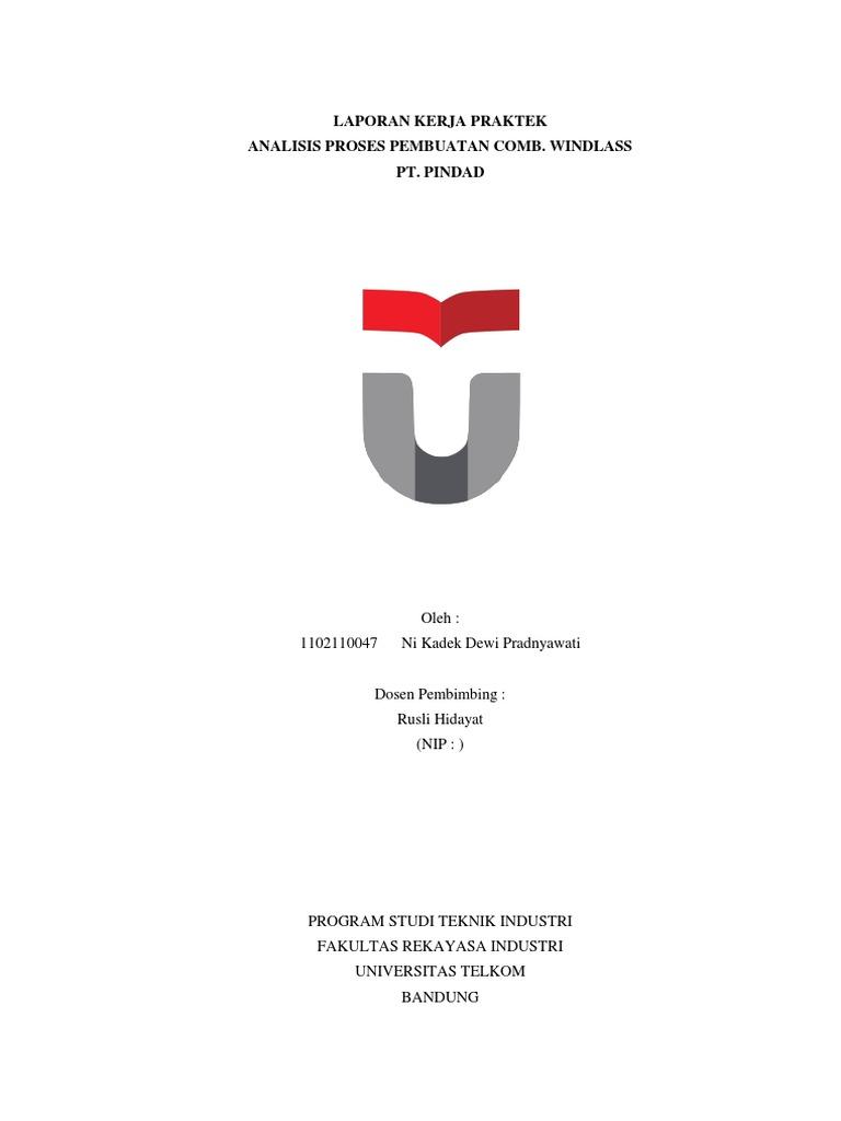 Template Laporan Kerja Praktek Universitas Telkom 2014