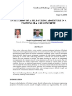 Evaluation of Self-curing Admixture in Fly Ash Concrete